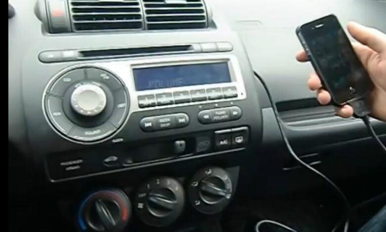 Honda Jazz Aux Çıkışı Montajı